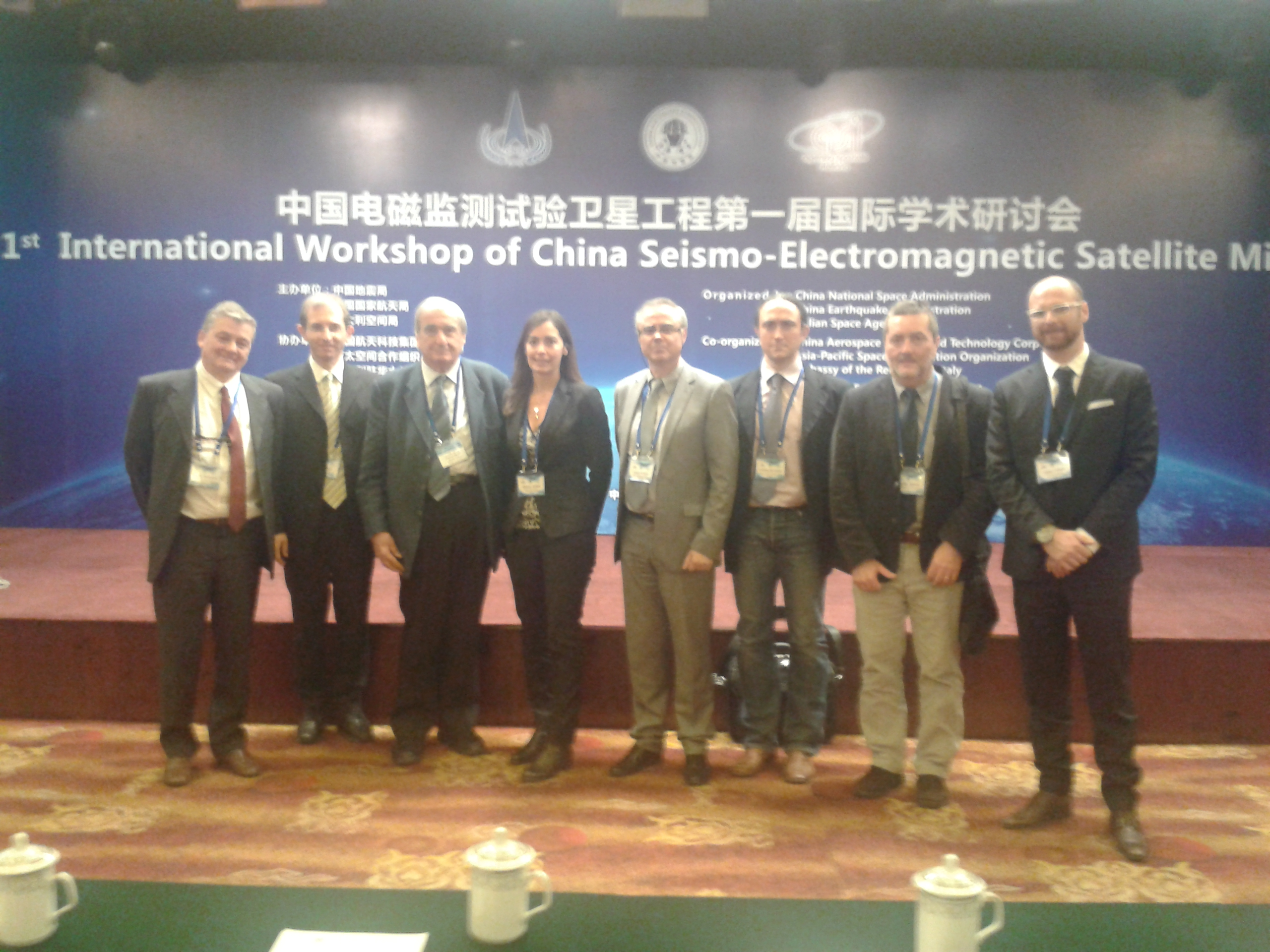 InternationalWorkshop of CHina China Seismo-Electromagnetic Satellite LIMADOU Collaboration