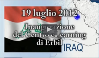 Video Presentation of the inauguration of the e-Learning Centre in Erbil