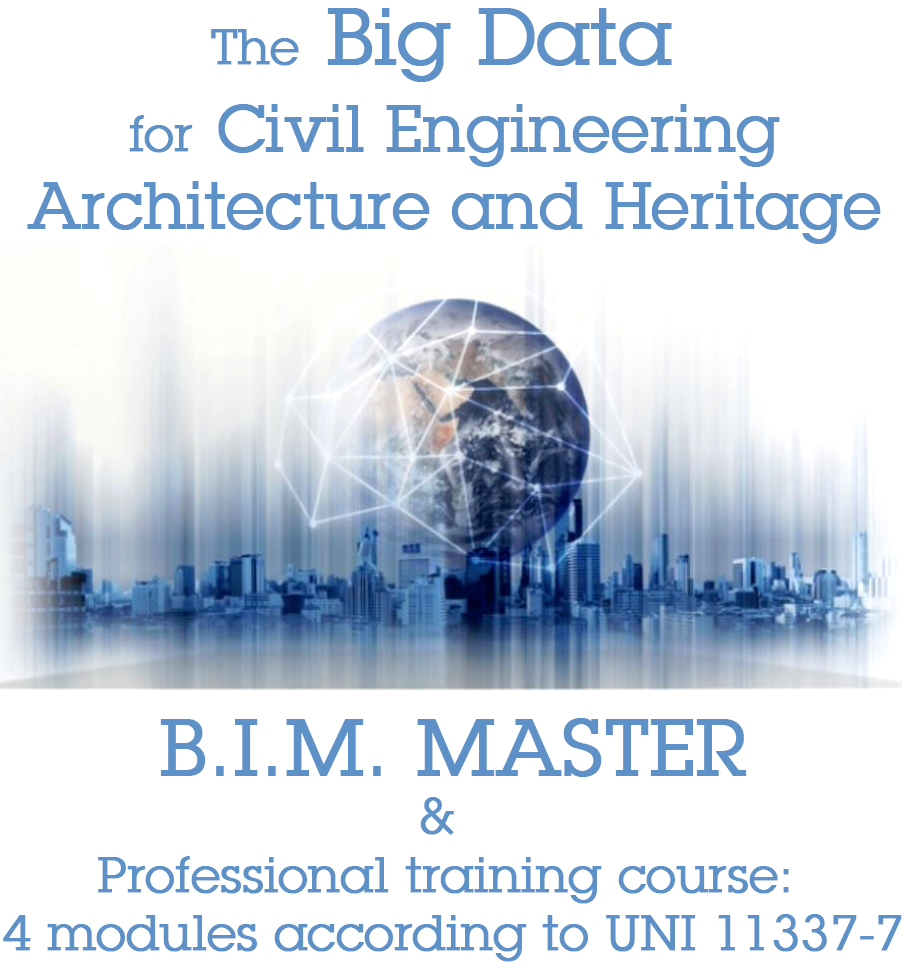 The Big Data for Civil Engineering and Architecture- B.I.M. MASTER