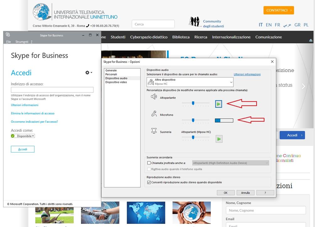 configurazione-audio-skype-for-business