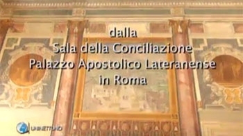 the Conciliation Room Lateran Apostolic Palace in Rome
