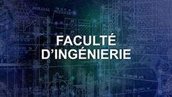 Faculté d'Ingénierie