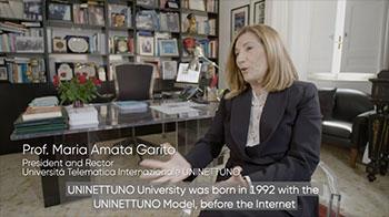 interview with Prof. Maria Amata Garito, Rector of UNINETTUNO