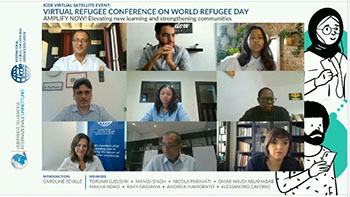 20 Giugno 2020, ICDE @ Virtual Refugee Conference