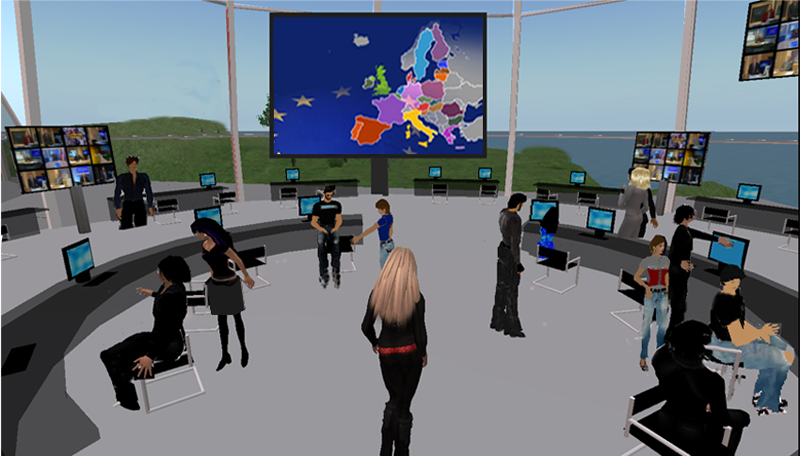3D Virtual Classrooms