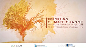Reporting climate change and sustainable development